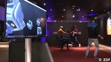 DW euromaxx Virtual-Reality-Spielhalle in Düsseldorf
