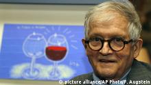 Großbritannien Künstler David Hockney in London