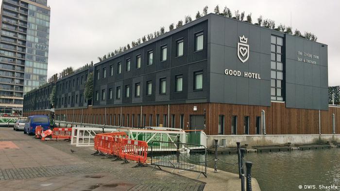 London Good Hotel mit Ausbildungen für Langzeitarbeitslose