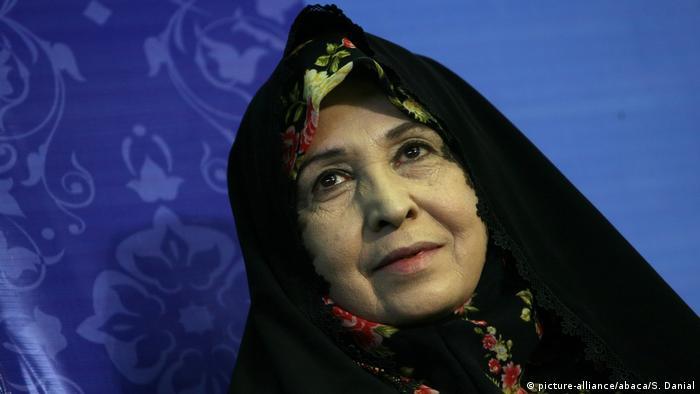 Iranische Politiker - Zahra Rahnavard (picture-alliance/abaca/S. Danial)