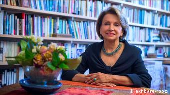 Farzaneh Milani - iranische Schriftstellerin (akhbare-rooz)
