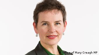 Mary Creagh - britische Politikerin (Office of Mary Creagh MP)