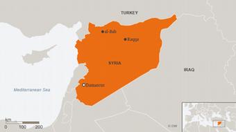 Map showing Syria, including Raqqa (al-Bab ENG)