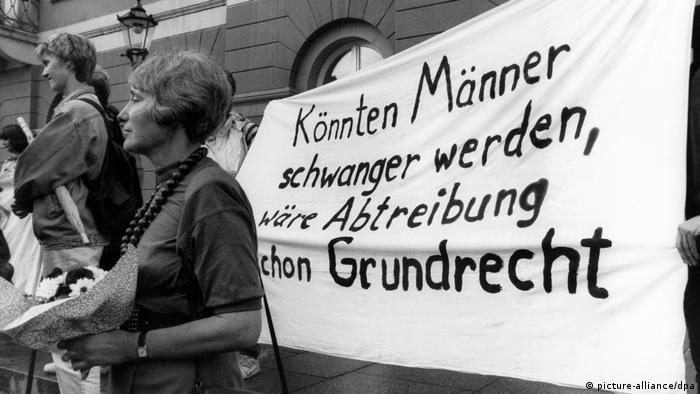 Prosvjedi za pobačaj u devedesetima