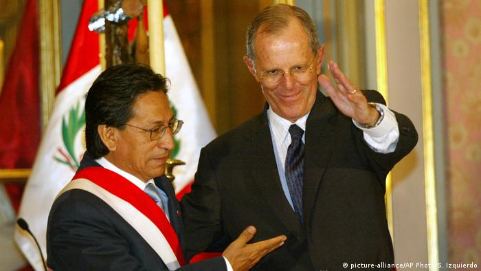 Peru | Alejandro Toledo (picture-alliance/AP Photo/S. Izquierdo)