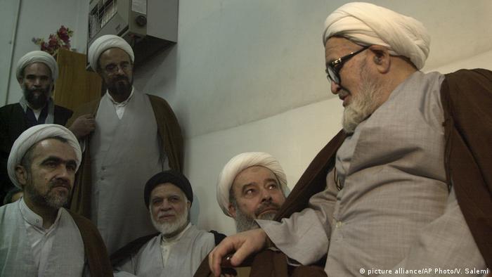 Hossein Ali Montazeri, Ahmad Montazeri (picture alliance/AP Photo/V. Salemi)