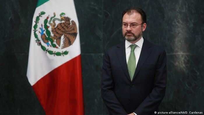 Mexiko Luis Videgaray wird neuer Außenminister (picture-alliance/AA/D. Cardenas)