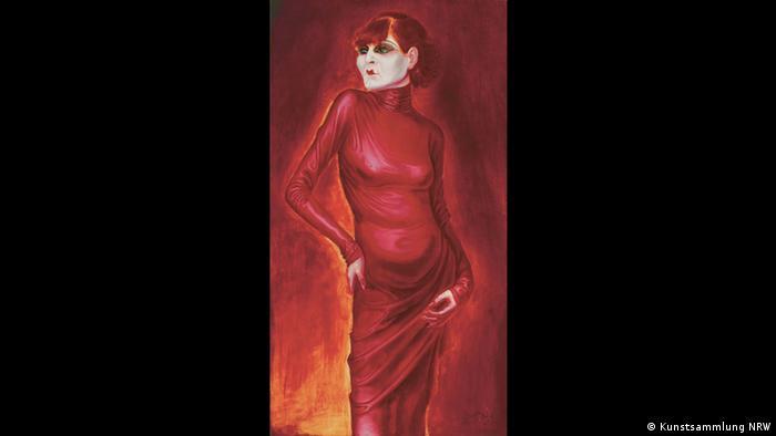 Otto Dix – Der böse Blick (K20, 11.02. – 14.05.2017)- Bildnis der Tänzerin Anita Berber, 1925 (Kunstsammlung NRW)
