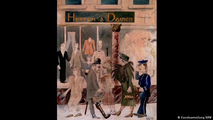 Otto Dix – Der böse Blick (K20, 11.02. – 14.05.2017)- Herren und Damen, 1922 (Kunstsammlung NRW)