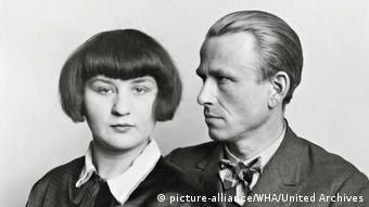 Otto Dix mit seiner Frau Martha, 1926