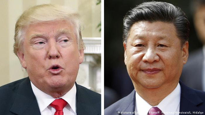 Kombobild Donald Trump und Xi Jinping (picture-alliance / AP Photo//P. Martinez Monsivais/L. Hidalgo)