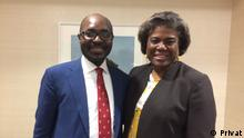 USA Rafael Marques und Linda Thomas-Greenfield