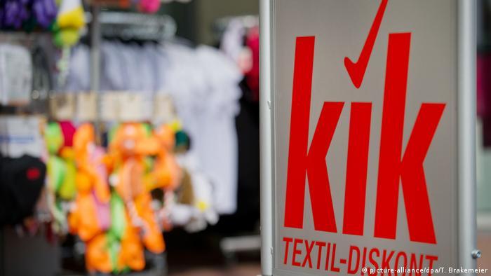 German clothing discount chain KiK
