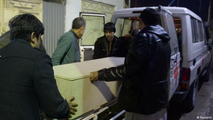 Afghanistan Attentat auf Rote Kreuz Mitarbeiter