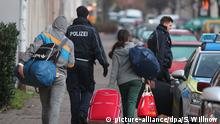Deutschland Abschiebung von Flüchtlingen
