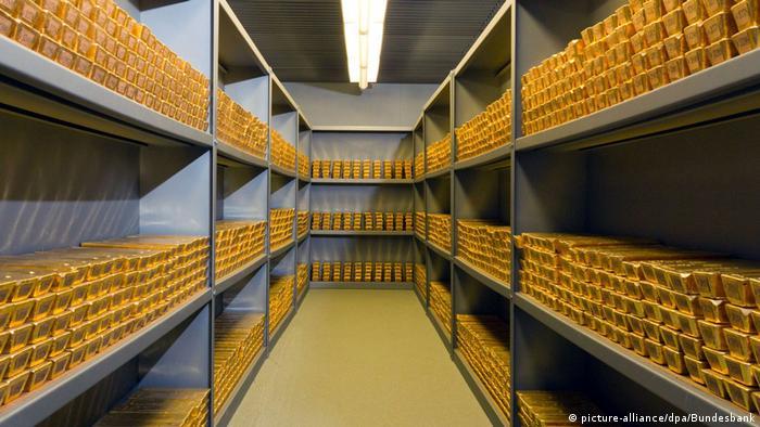 Хранилище золота во Франкфурте-на-Майне