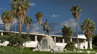 Namibia Denkmal, Erinnerung an deutsche Soldaten im Krieg gegen die Herero und Nama, Windhoek