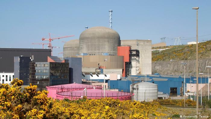 Атомната централа във Фламанвил, Франция