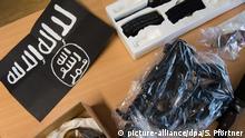 Deutschland PK zur Verhaftung von zwei Salafisten in Göttingen