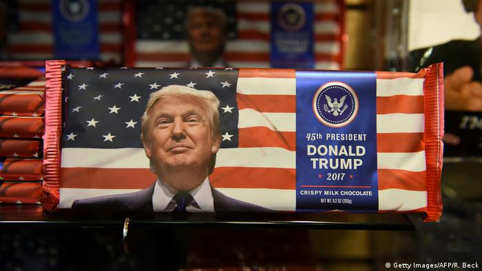 Präsident Donald Trump Merchandising (Getty Images/AFP/R. Beck)