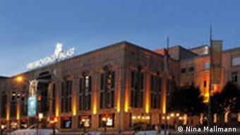 Outside view of the Friedrichstadtpalast theater