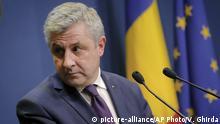 Rumänien Rücktritt Erklärung Justizminister Florin Iordache