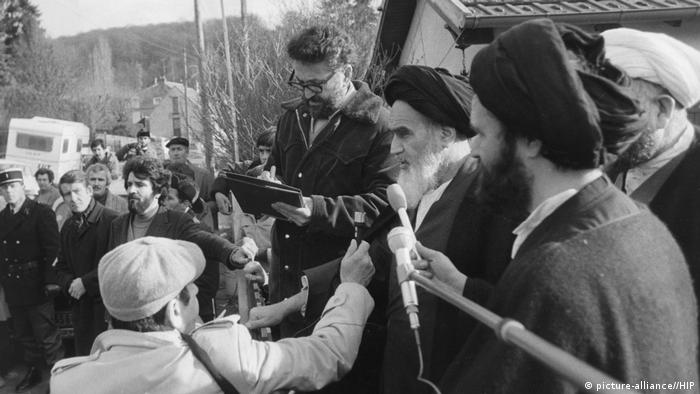 Iran Ayatollah Khomeini (picture-alliance//HIP)