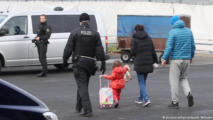 Rejected asylum seeker in Leipzig