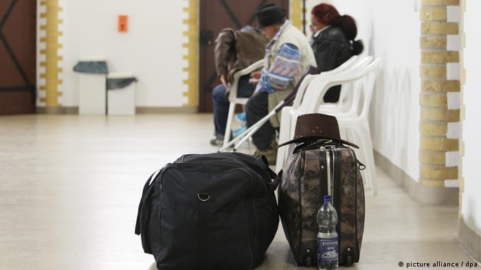 Deutschland Abschiebungen abgelehnter Asylbewerber in Leipzig