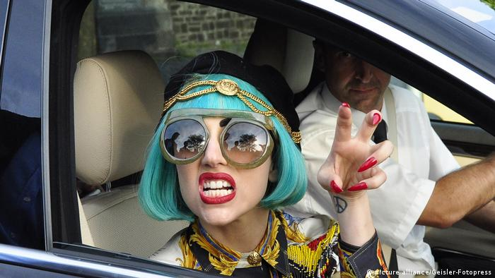 Lady Gaga in Bergisch Gladbach (picture alliance/Geisler-Fotopress)