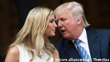 Ivanka und Donald Trump (picture alliance/dpa/S. Thew/Epa)