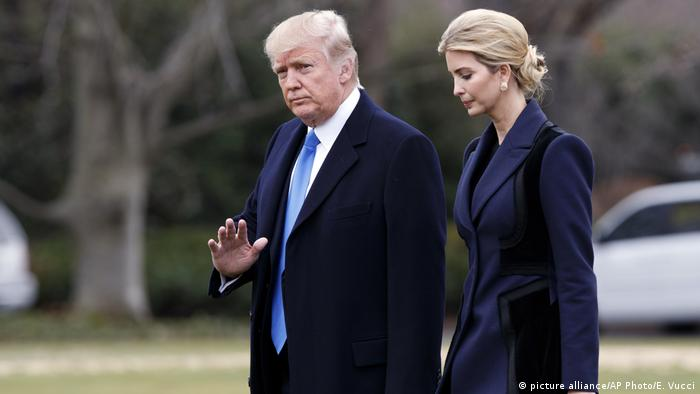 Donald Trump und Ivanka Trump (picture alliance/AP Photo/E. Vucci)