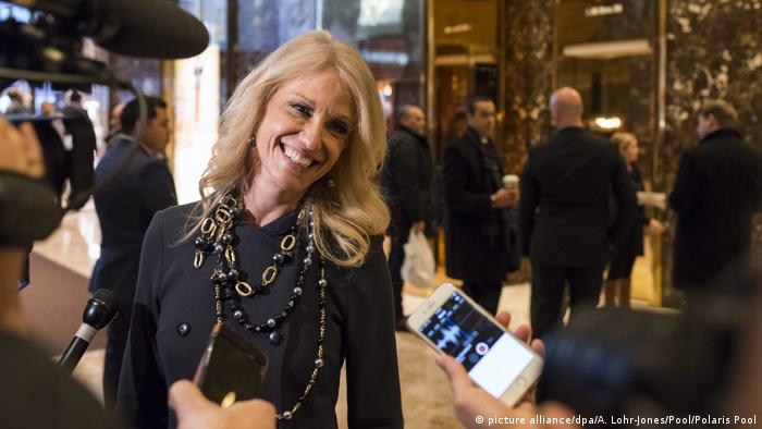 Kellyanne Conway (picture alliance/dpa/A. Lohr-Jones/Pool/Polaris Pool)