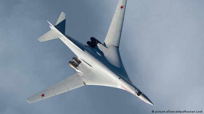Russland Düsenjäger Tu-160 (picture-alliance/dpa/Russian Look)