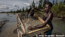 Indonesien Illegale Goldsuche in Timika
