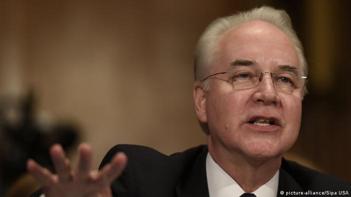 USA | Tom Price (picture-alliance/Sipa USA)