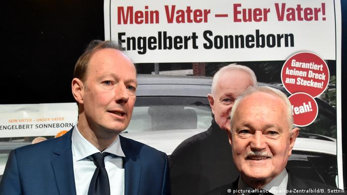 Deutschland | Engelbert Sonneborn kandidiert als Bundespräsident (picture-alliance/dpa/dpa-Zentralbild/B. Settnik)