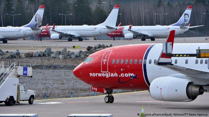 Airline Norwegian (picture-alliance/dpa/J. Nilsson/TT News Agency)
