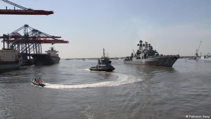 Pakistan Marine Manöver (Pakistan Navy)