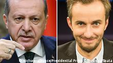 Erdogan gegen den Satiriker Böhmermann (picture-alliance/Presidential Press Office/dpa/Spata)