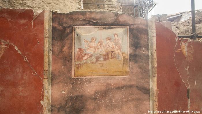 Italien | Italiens Kulturminister Dario Franceschini und EU-Kommissarin Corina Cretu besuchen Pompeii