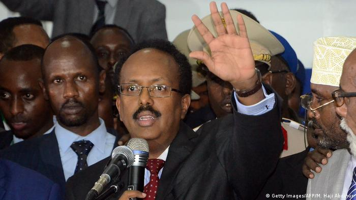 Somalia Mohamed Abdullahi Farmajo (Getty Images/AFP/M. Haji Abdinur)