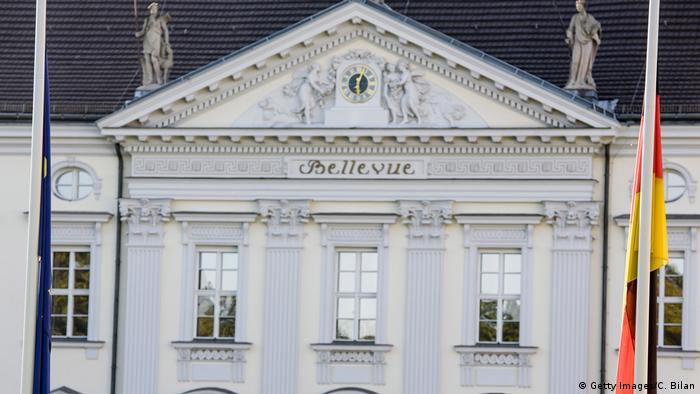Deutschland Schloss Bellevue Symbolbild