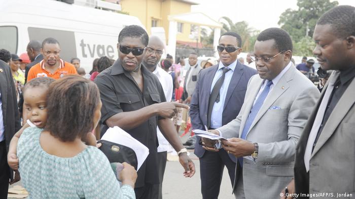 Teodorin 'Teddy' Obiang in Malabo in 2014