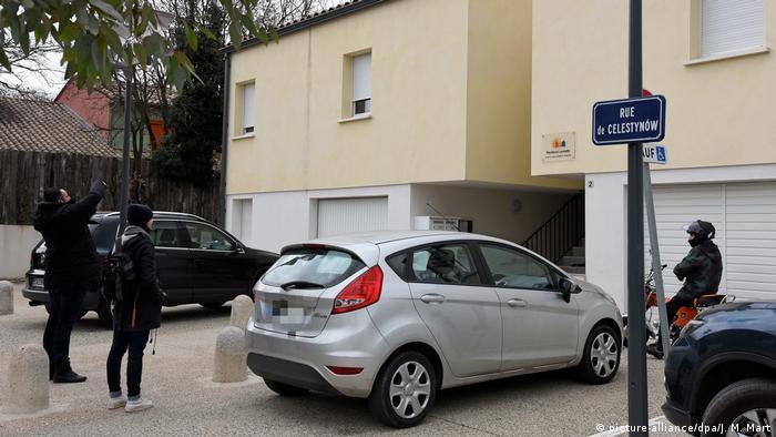 Frankreich Vier Festnahmen in Montpellier (picture-alliance/dpa/J. M. Mart)