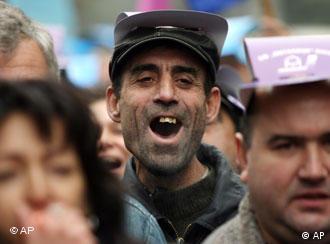 Протест на металурзи от Кремиковци