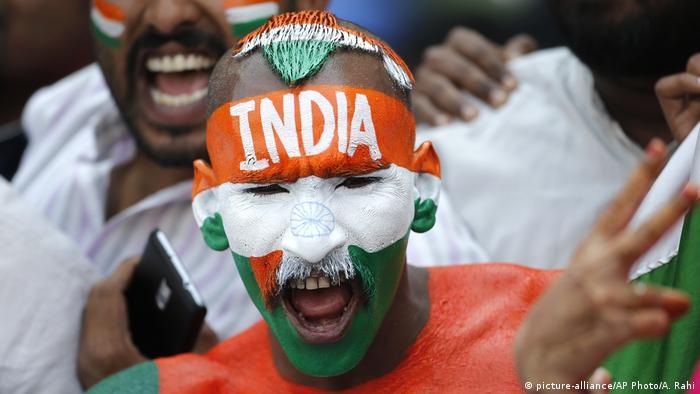 Indien Hyderabad Cricket Testspiel mit Bangladesch
