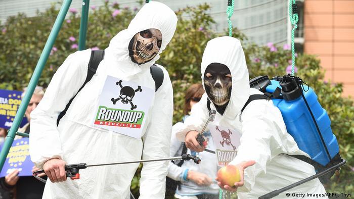 Belgien Proteste gegen Glyphosat