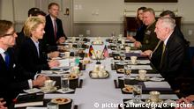 USA Washington Ursula von der Leyen, Jim Mattis