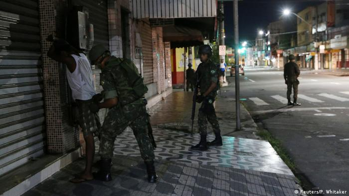 Brasilien Espirito Santo Polizei Streik Gewalt